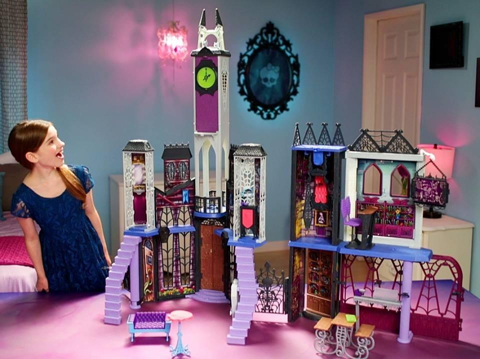 Nena Accesorios Monster Gigante Juguete High Casa Con y7Yfbgv6