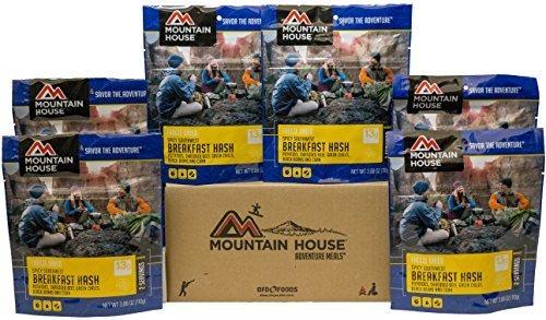casa montañ picante suroeste desayuno hash 6-pack: depor