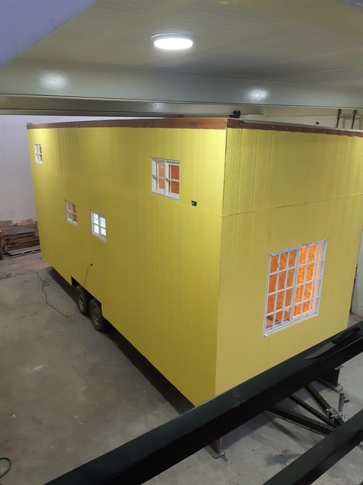casa movil , trailer movil, casa de campo, casa prefabricada