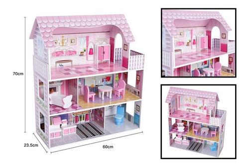casa muñecas juguete de madera  1