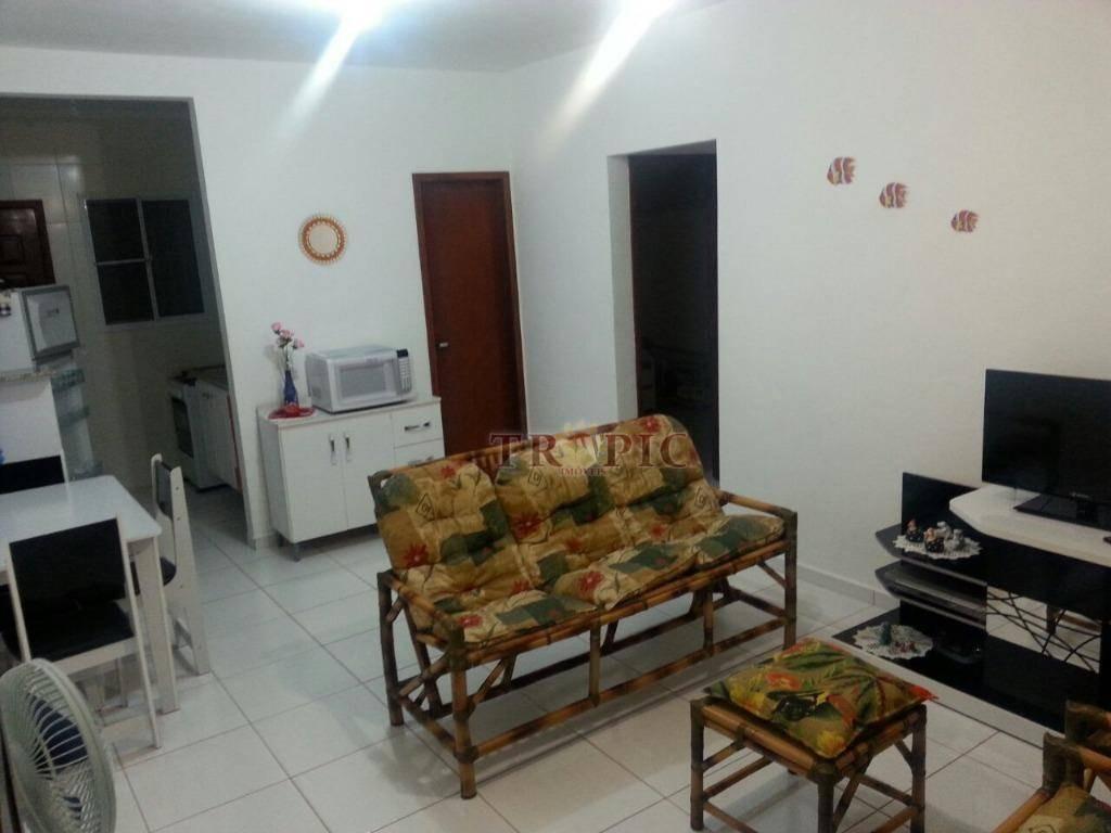 casa na praia com 2 dormitórios à venda, 54 m² por r$ 250.000,00 - vila agao - bertioga/sp - ca0352