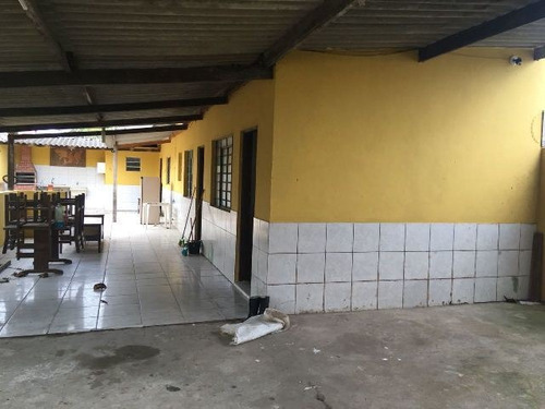 casa na praia com 2 quartos , em itanhaém-sp 4503-pc