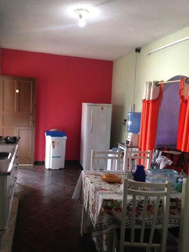 casa na praia com 2 quartos, itanhaém - ref 2746-p
