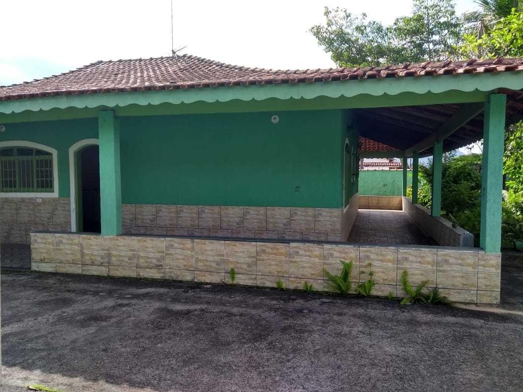 casa na praia com edícula em mongaguá ref 6824w