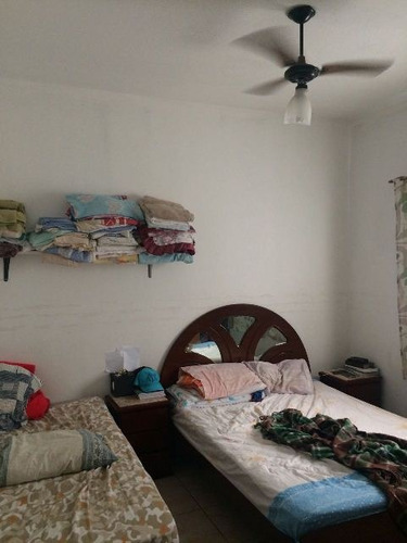 casa na praia com escritura e 2 dormitórios - ref 3491-p