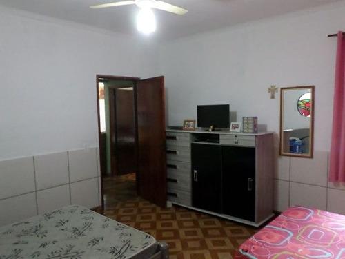 casa na praia com piscina e 2 dormitórios - ref 4030-p