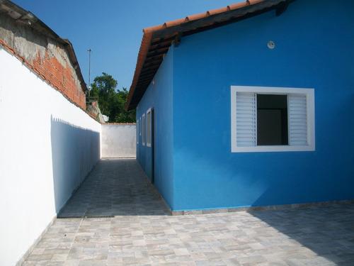 casa na praia de itanhaém - financiamento direto construtor