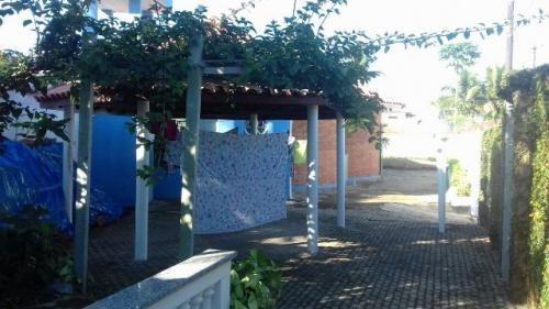 casa na praia do sonho em itanhaém, lote amplo, 500m do mar!