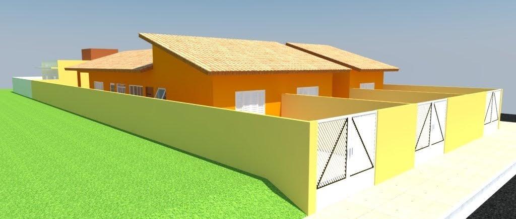 casa na praia em construção com entrada e parcelas direto!