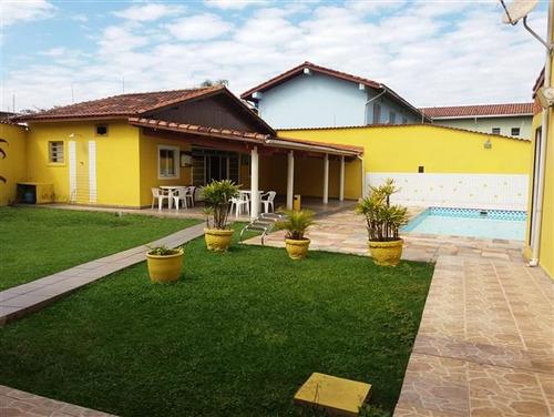 casa na praia , piscina, condomínio  c5621