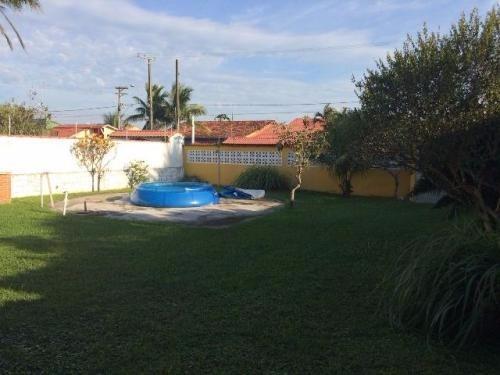 casa na praia,com 3 dorm,com espaço para piscina!