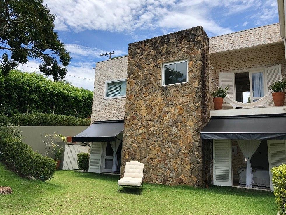 casa na represa charme e requinte em estilo rustico   ch-106