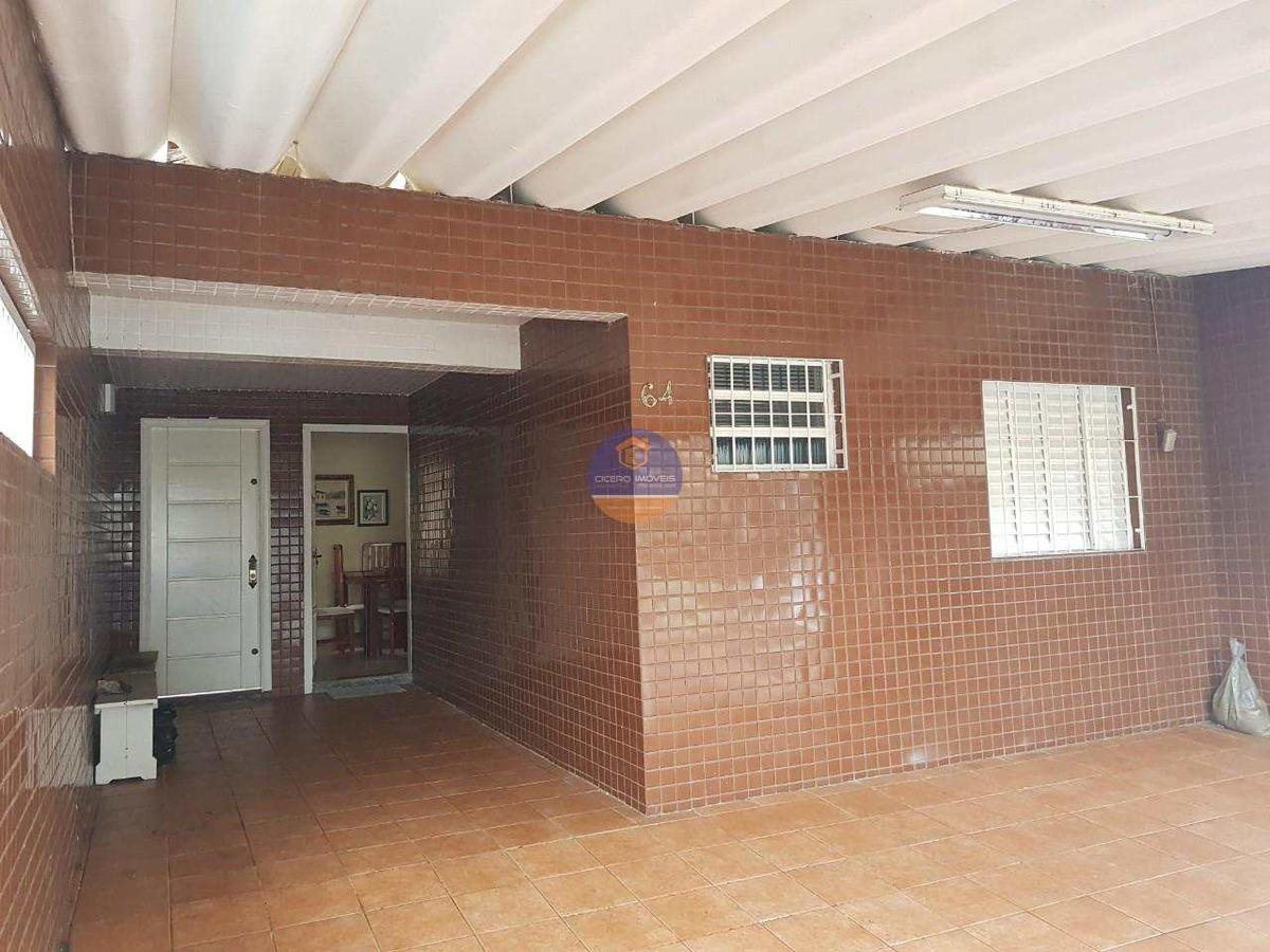 casa na vila caiçara, praia grande -r$ 240 mil!  ref. ca0066