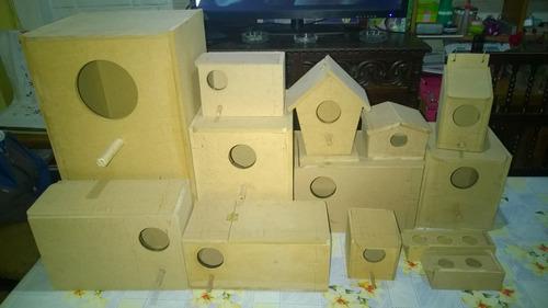 casa nido para canarios o diamantes