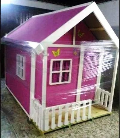 casa niñas juguete grande madera para jardines