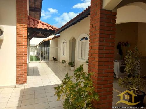 casa no bairro centro em peruíbe - 2093