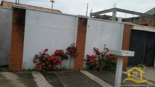 casa no bairro icaraíba em peruíbe - 304