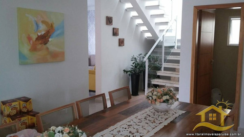 casa no bairro residencial três marias em peruíbe - 1713