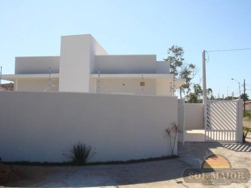 casa no bairro são joão batista ii em peruíbe - 00114