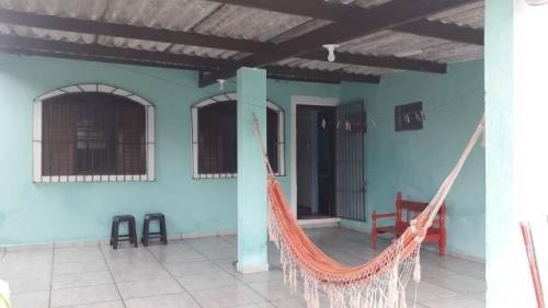 casa no balneário gaivota, em itanhaém, lado praia