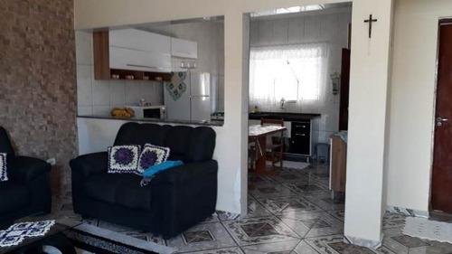casa no balneário gaivota, em itanhaém - ref 4456