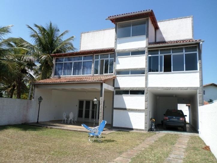 casa no centro de praia seca de 3 andares com 4 quartos, churrasqueira e 3 terrenos, - 191