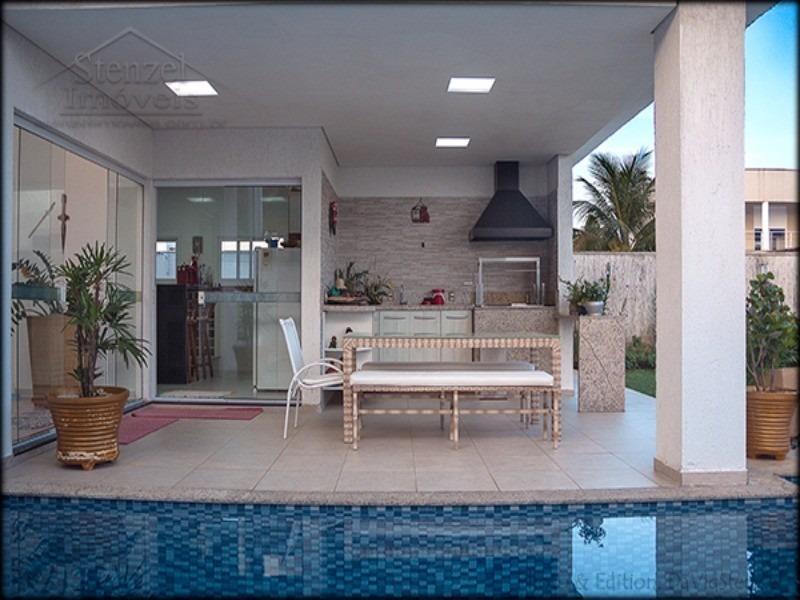 casa no condomínio bougainville em bertioga - cc00007 - 4880291