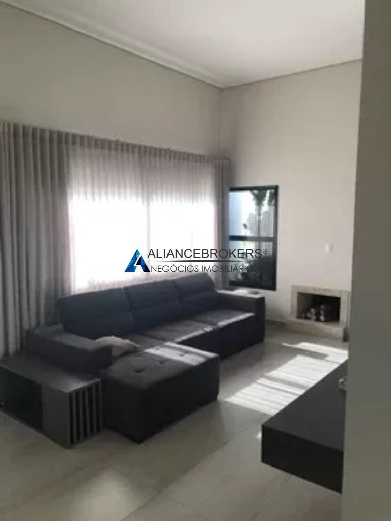 casa no condomínio reserva da serra, 3 dormitórios, área de 200 m² - ca01320 - 33861579