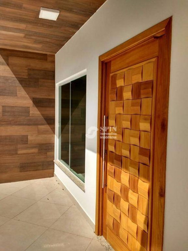 casa no condomínio vivendas, venda das pedras, itaboraí. - ca0285