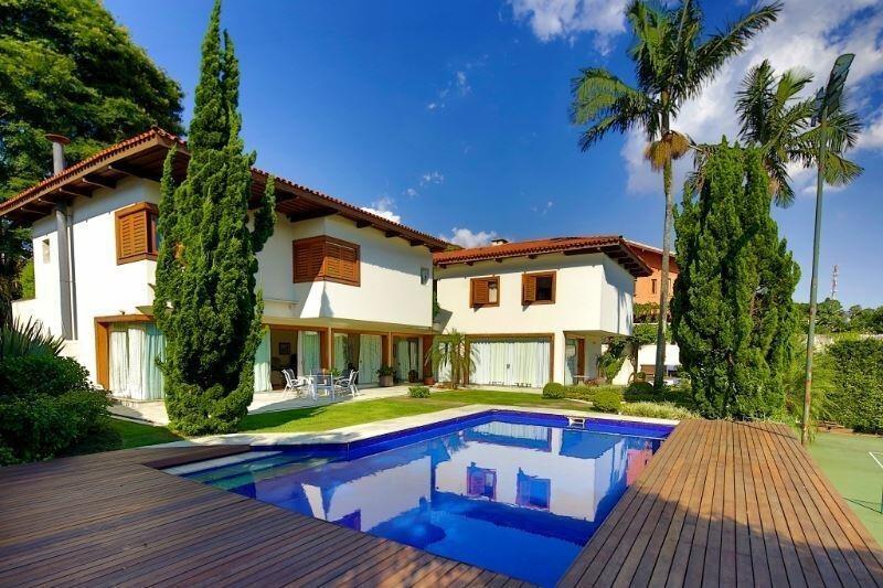 casa no jardim guedala, 5 dormitórios, piscina e quadra oficial de tênis. - 3-im31542
