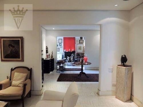 casa no jardim paulista, 352m, 3 dormitorios, 4 vagas de garagem - ca0124