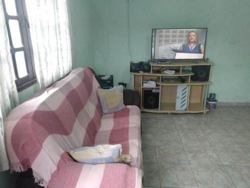 casa no litoral - 2 quartos - á 1 km do mar em itanhaém/sp