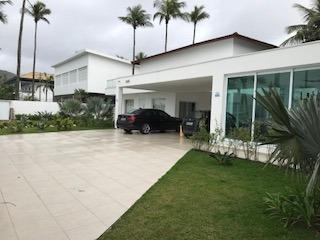 casa no litoral de são paulo - guarujá - frente a praia