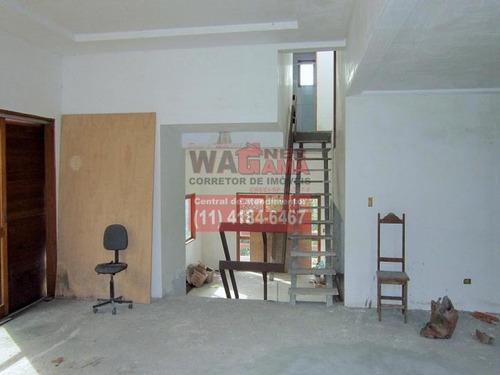 casa no são fernando residencia, barueri, 2 quartos sendo 1 suíte - 937