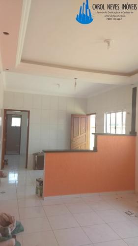 casa nova 2 dormitórios mongaguá, 149 mil! - 3305