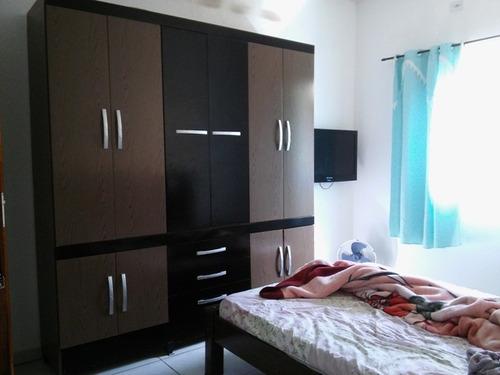 casa nova, 2 quartos, rua calçada, p/ financiar!