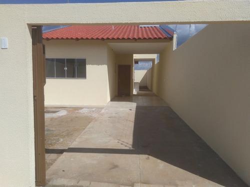 casa nova 2qts - setor conde dos arcos
