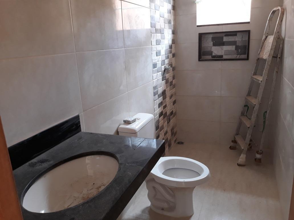 casa nova 3 quartos - bairro oliveira i - 90m2