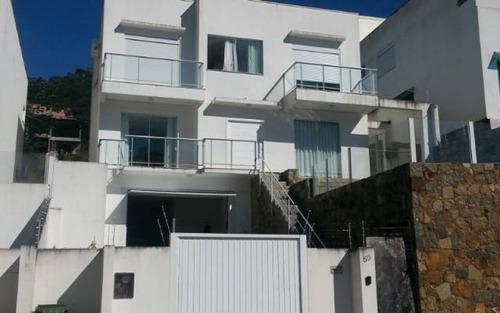 casa nova 4 dormitórios, sendo 2 suítes semi mobiliada córrego grande em florianópolis