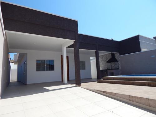 casa nova c/ piscina bairro belmira novaes peruíbe a venda.