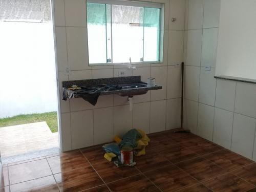 casa nova com 1 quarto,em itanhaém/sp