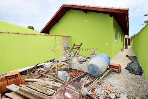 casa nova com 2 dorms, excelente preço em itanhaém - cod: 308 - v308