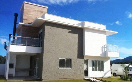 casa nova com escritura pública 3 suítes em loteamento no rio vermelho florianópolis