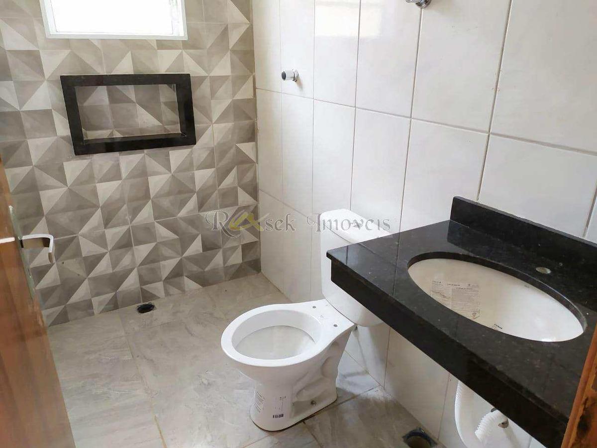 casa nova com piscina e churrasqueira, lado praia - cod: 219 - v219