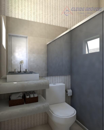 casa nova e pronta para morar condomínio belvedere com 3 suítes térrea. - ca1004