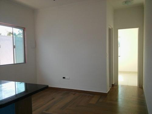 casa nova em itanhaém praia sp com escritura, 2 quartos