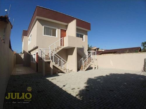 casa nova entrada r$ 26.980,00 +saldo super facilitado, use seu fgts e realize o sonho do imóvel na praia minha casa minha vida itanhaém - ca3544