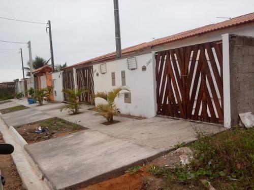 casa nova, lado praia, 2 dorm, parcela direto ou financia