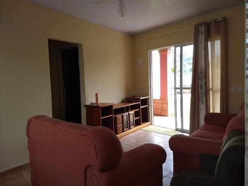 casa nova, lado praia! com 02 quartos, escritura. visite!