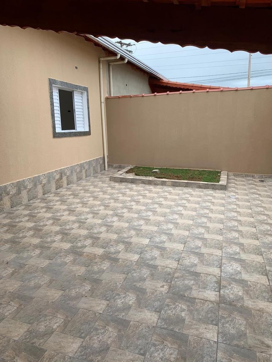 casa nova lado praia com piscina em mongaguá!
